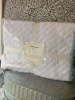Pottery Barn Kids Organic Pom Pom toddler quilt crib nursery, NWT 3 Available