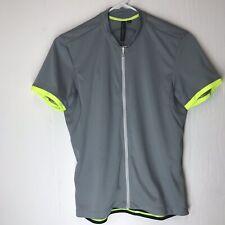 Specialized Sz Medium M Women's Cycling Bike Shirt Jersey Gray 3 Pockets  Zipper
