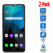2-Pack For LG K22/K22+ Plus 9h Premium Tempered Glass Screen Protector
