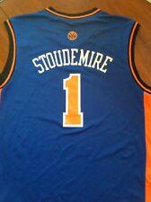 NWT ADIDAS NBA NEW YORK KNICKS STOUDEMIRE JERSEY BLUE SIZE XXL