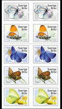Sweden  2017   Butterflies   booklet   mnh       G