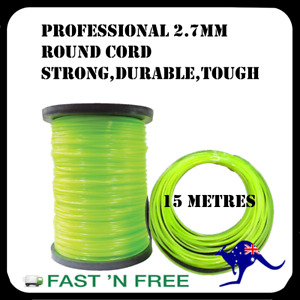 Trimmer Line Whipper Snipper Cord 2.7mm Round Professional Brush cutter