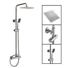 Duschpaneel Aufputz Thermostat Regendusche Duscharmatur Duschset Duschsystem