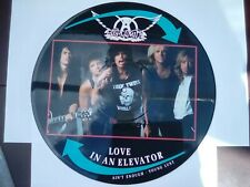 "AEROSMITH LOVE IN AN ELEVATOR 12"" VINYL Limited Edition PICTURE PIC DISC"