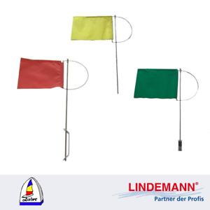 Verklicker, Windrichtungsanzeiger ohne Gegengewicht rot,gelb,grün