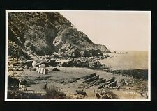 Devon LEE Bay Beach c1930/50s? RP PPC Valentine 206796