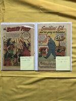 Lot of 2 Coverless Buster Brown Comics (1945) #22 27