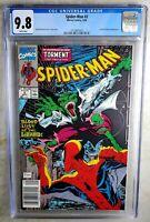Spider-man #2 NEWSSTAND Marvel 1990 Lizard Calypso CGC 9.8 NM/MT WP Comic P0013