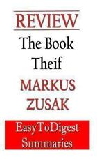 The Book Thief: by Markus Zusak - REVIEW and SUMMARY Guide : An Expert...