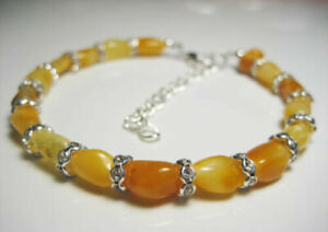 Genuine Butterscotch Amber Baltic Amber Bracelet !!!
