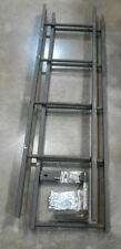 Fixed Steel Ladder 9' Tall with Mounting Hardware (161-A6)