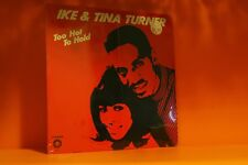 IKE & TINA TURNER - TOO HOT TO HOLD - SPRINGBOARD *SEALED* VINYL LP RECORD