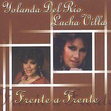 ~BACK ART MISSING~ Lucha Villa, Yolanda Del Rio CD Frente a Frente