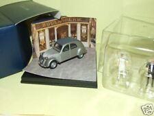 CITROEN 2CV 1948 Figurine + Diorama Boulanger  Vitesse