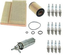 Mercedes W163 ML320 98-01 Tune Up Kit Air Fuel Oil Paper Filter Spark Plugs