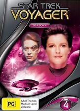 Star Trek Voyager : Season 4 (DVD, 2007, 7-Disc Set) VGC Pre-owned (D97)