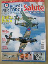 ROYAL AIR FORCE RAF SALUTE MAGAZINE VOLUME 2 BATTLE OF BRITAIN PROUD HERITAGE