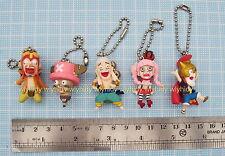 One Piece Mini Figure Keychain Surprise Style Complete 5pcs-Bandai Gashapon h#1a