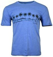 Men's T-Shirt Sunset Beach Palm Trees  Relax by eeMBee  here 100 % Cotton NEW