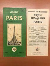 Guide Michelin Paris 1950 - 51