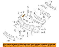 KIA OEM 03-06 Sorento Front Bumper-Bumper Cover Upper Bracket Right 865163E010