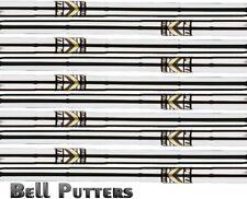 "Ten (10) Apollo Standard Steel Golf Iron Shaft-A/L Senior/Lady Combo Flex-40"""