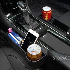 2* Autositz Lücken Aufbewahrungsbox Getränkehalter Veranstalter für schlüssel