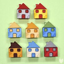Buttons Galore Lotsa Houses 4162 -  House Dress it Up
