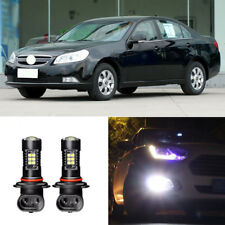 2x Canbus H3 3030 21SMD LED DRL Daytime Running Fog Lights Bulbs For Chevy Epica