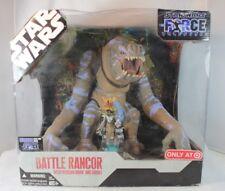 Hasbro Star Wars BATTLE RANCOR w Felucian Rider Action Figure Force Unleashed