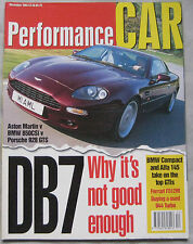 Performance Car 12/1994 featuring Aston Martin, Porsche 928, BMW 850CSi, Ferrari