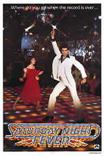 SATURDAY NIGHT FEVER Movie Promo POSTER John Travolta Karen (Lynn) Gorney