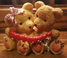 Bears w Heart String Valentines Roses Love Cuddle Christmas Tree Shops Nantucket