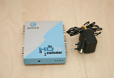 Gefen 4x1 HD TV Switcher, HDCP, 4x DVI-In, 1x DVI-Out