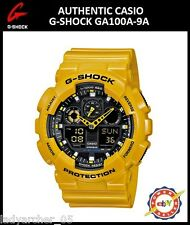 Casio G-Shock GA100A-9A Bumblebee Ana-Digi Watch