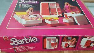 Barbie Chambre à coucher 1978 – Mattel n°2150 - Complète avec boîte d'origine