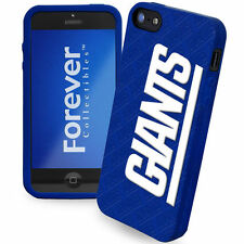 New York Giants All Silicone IPHONE 5 soft cell phone cover/case - Licensed