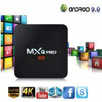 MXQ Pro 4K HD 3D Android 9.0 Smart TV Box Amlogic S905W Quad Core WiFi 2GB+16GB