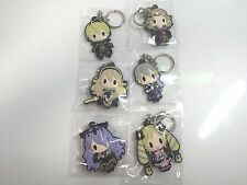 D4 Fire Emblem if Rubber KeyChain Keyholder Collection Vol.2 All 6 pieces Japan