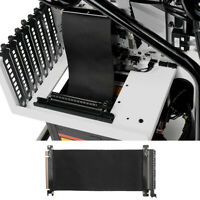 High Speed PCI-E Express 16x Flexible Cable Extension Port Adapter Riser 1 Slot