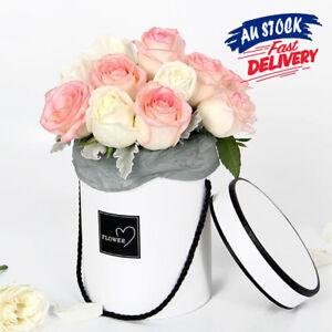 Florist Box Plant Boxes Paper Flower Round Boxes Living Vases Handheld Bouquet