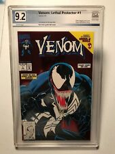 Venom Lethal Protector 1, First Venom Title, NM- PGX 9.2, not CGC or CBCS