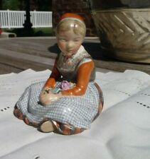 "Porcelain figurine ""Funen Girl "". Denmark, Royal Copenhagen #12420,Beautiful"