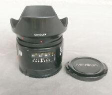 Minolta AF 1:2,8/24mm, très bon état,