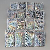 16Stk/set Sternhimmel Nagel Folie Nail Foil Folien Nagel Dekoration Nagelfolie