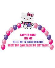 Hello Kitty BIRTHDAY BALLOON ARCH DIY KITS Party Decorations, Hello Kitty Party