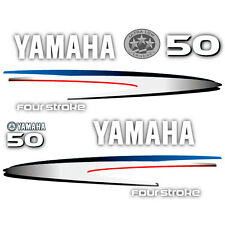 Yamaha 50 four stroke outboard (2002-2006) decal aufkleber adesivo sticker set