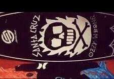 Tabla De Surf Santa Cruz Pro Model Ozzie Wrong 5'8
