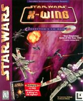Star Wars X Wing CD Rom 1992 IBM PC Video Simulator Game Collectors DISK ONLY