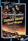 Sherlock Holmes: Secret Weapon (Basil Rathbone) - Region Free DVD - Sealed